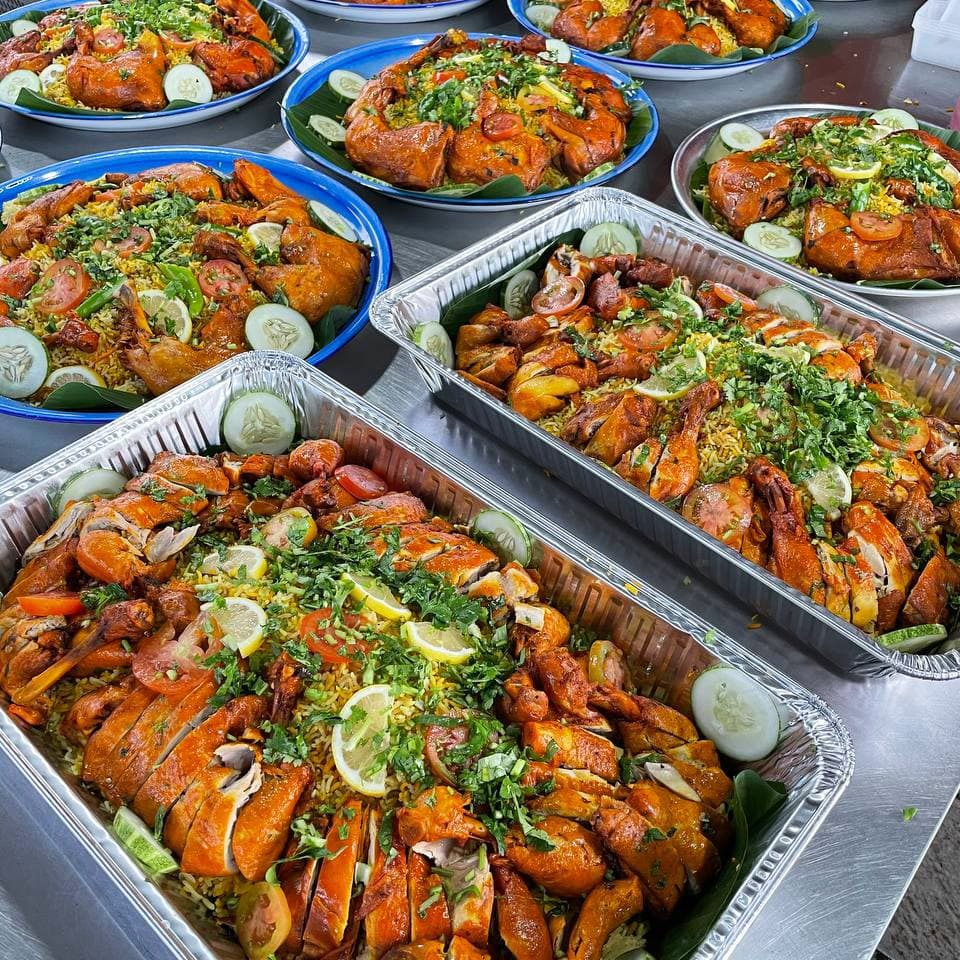 nasi arab mandy ayam
